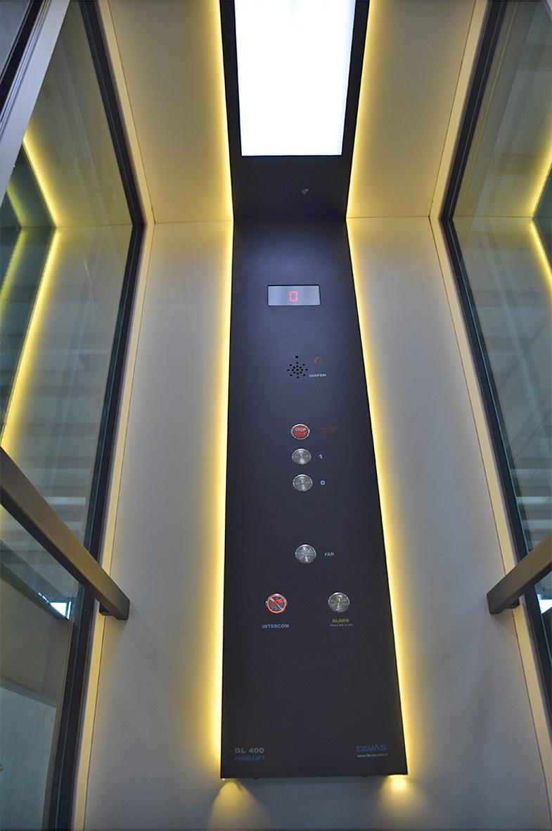 dublex ev asansörü